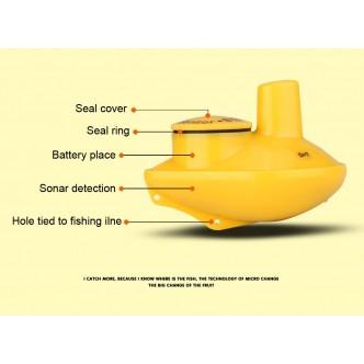 Sonar Color 2in1 pentru pescuitul din Barca si de pe Mal